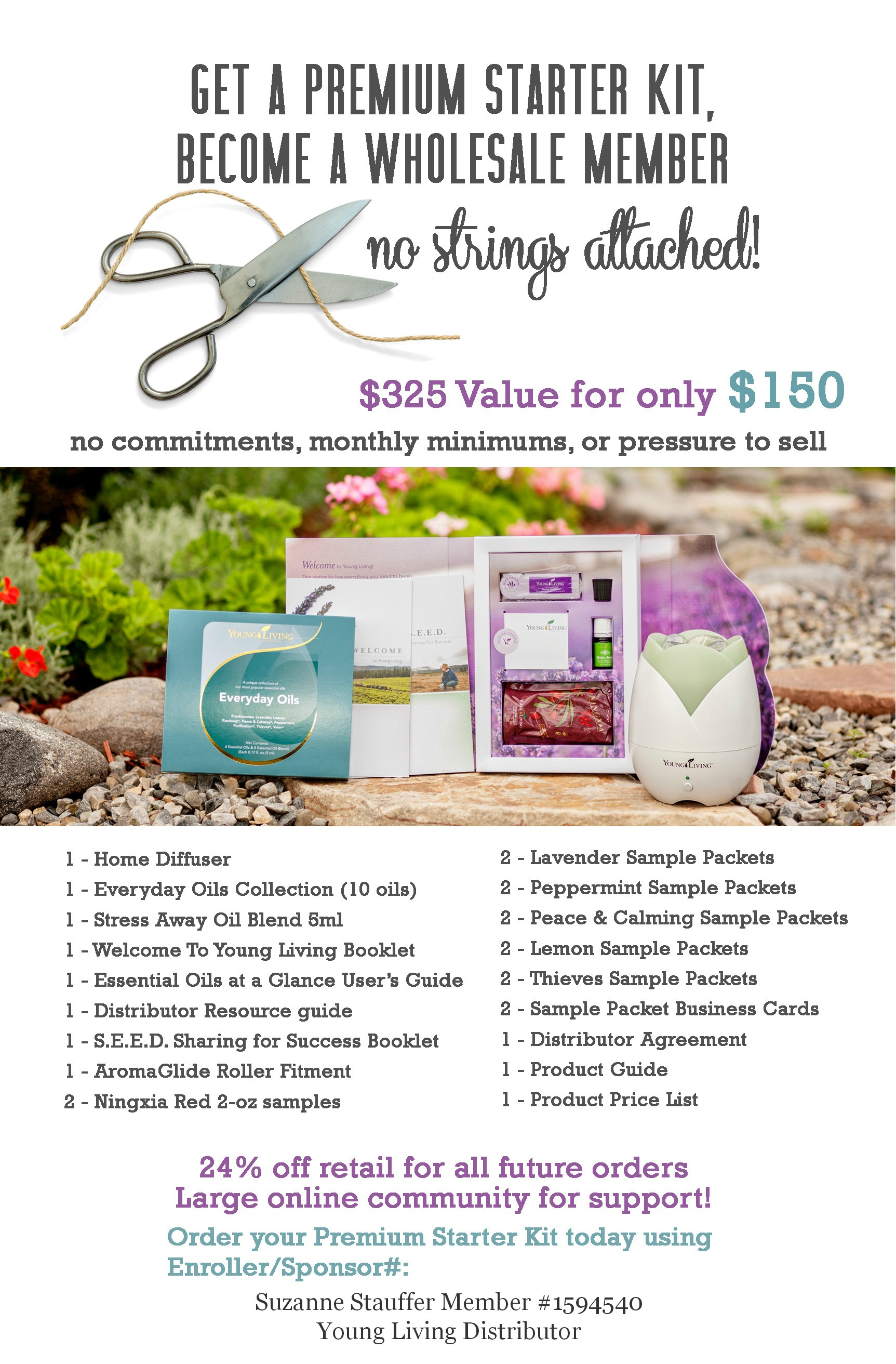 Living Happy Oils Get Your Kit